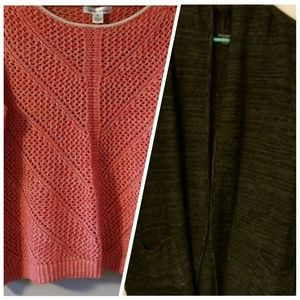 Sweaters - TWO XL Sweaters
